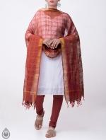 Shop Online Pure Mangalagiri Cotton Dupatta_10