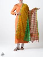 Shop Online Pure Mangalagiri Cotton Dupatta_1