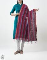 Shop Online Pure Mangalagiri Cotton Dupatta_3