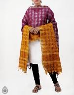 Shop Online Pure Mangalagiri Cotton Dupatta_6