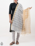 Shop Online Pure Mangalagiri Cotton Dupatta_7