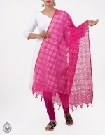 Shop Online Pure Mangalagiri Cotton Dupatta_8