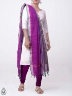 Shop Online Pure Mangalagiri Cotton Dupatta_9