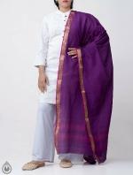 Shop Online for Purple Pure Andhra Cotton Dupatta-UDS2779