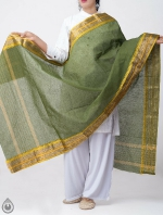 Shop Online for Green Pure Andhra Cotton Dupatta-UDS2770