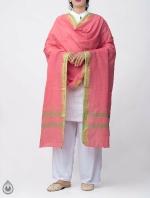 Shop Online for Pink Pure Andhra Cotton Dupatta-UDS2774