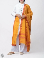 Shop Online for Yellow Pure Andhra Cotton Dupatta-UDS2777