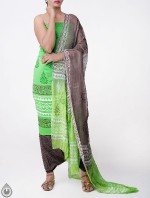 Shop Online Pure Cotton Salwar Kameez with Jaipuri Prints_10