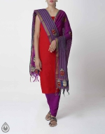 Shop Online Handloom Salwar Kameez_170