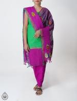 Shop Online Pure Handloom Salwar Kameez_158